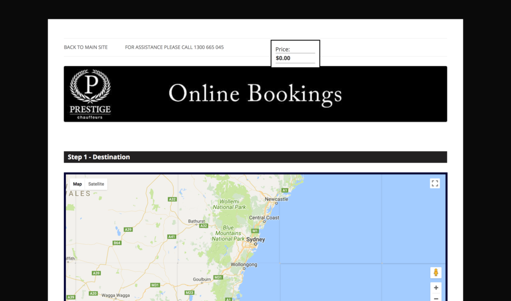 Prestige chauffeurs australia order a cab - Order a cab ...
